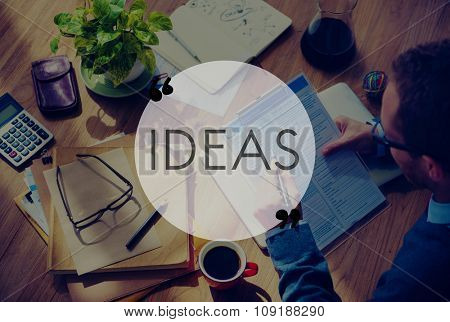 Ideas Idea Creative Imagination Inspiration Invention Concept