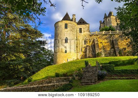 mysterious castles of France, Dordogne region