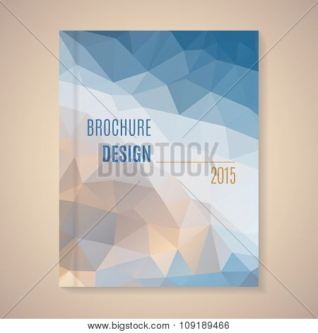 Vector template for brochure