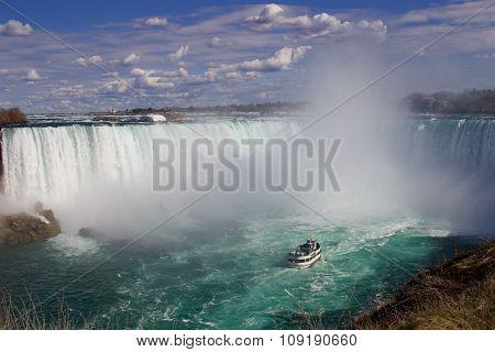 The Powerful Beautiful Niagara Falls - Version 2