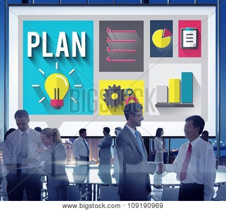 Plan Planning Strategy Ideas Business Inspiration Concept