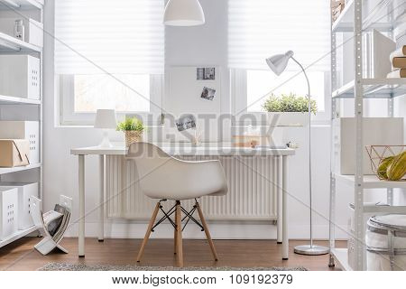 Study Area In Teenager Room