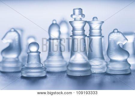 glass chess