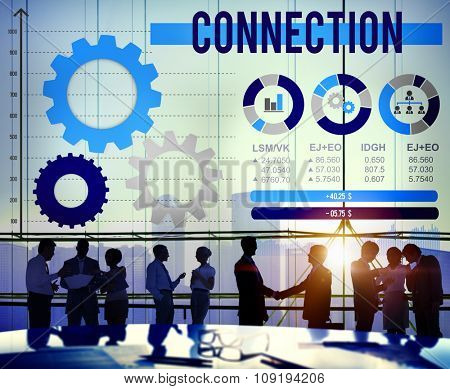 Connect Connection Connecting Communication Concept