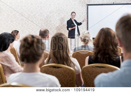 Speaker At The Conference