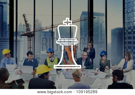 Strategy Business Planning Success Analysis Concept