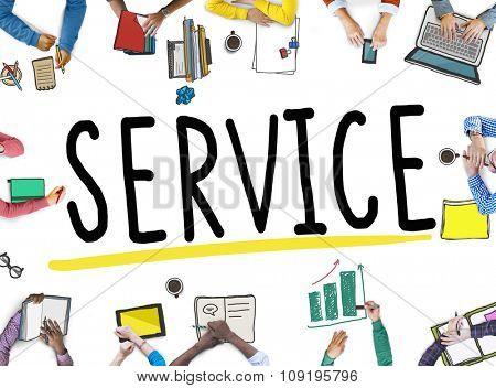 Service Support Satisfaction Consumerism Concept