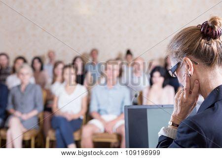 Begin A Presentation