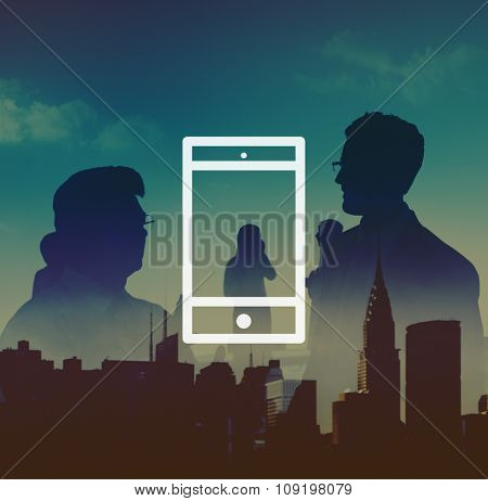 Mobile Phone Mobility Wireless Technology Concept