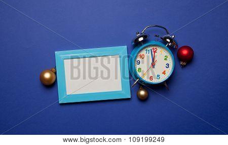 Alarm Clock And Photo Frame