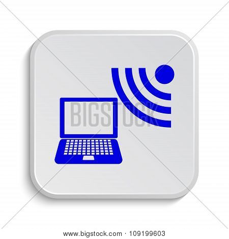 Wireless Laptop Icon