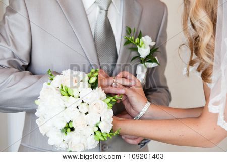 Wedding rings exchange
