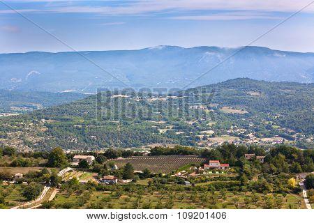 Landscape Of Rural Provence