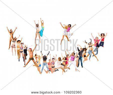 All Happy Team Portrait