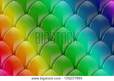 Abstract Rainbow Colorful Background