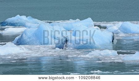 Deep Ice From The Bottom Of The Glacier