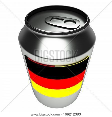 German can, 3d