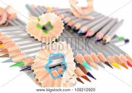 Pencils and shaving