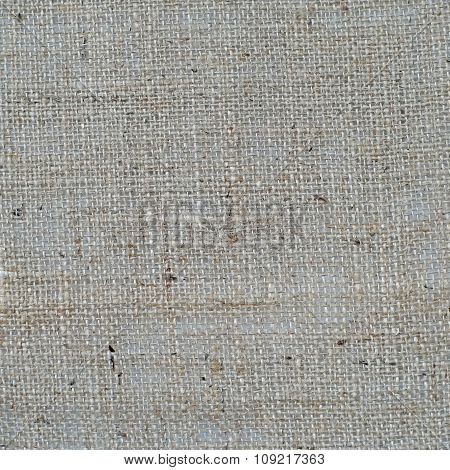 Burlap Or Linen Fabric As Background Or Texture