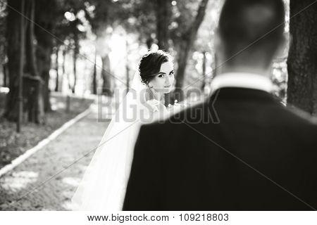 Wedding Photo,  Happy Bride And Groom Together