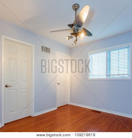 Empty Bedroom interior design