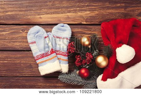 Mittens And Christmas Gifts