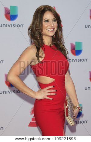 LAS VEGAS - NOV 19:  Carolina Gutierrez at the 16th Latin GRAMMY Awards at the MGM Grand Garden Arena on November 19, 2015 in Las Vegas, NV