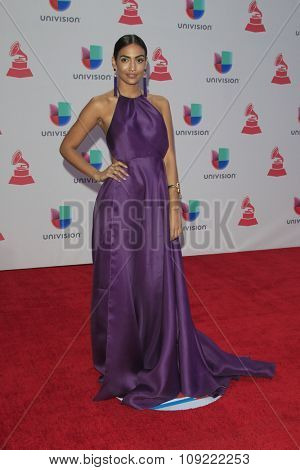 LAS VEGAS - NOV 19:  Manu Manzo at the 16th Latin GRAMMY Awards at the MGM Grand Garden Arena on November 19, 2015 in Las Vegas, NV