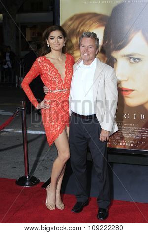 LOS ANGELES - NOV 21:  Blanca Blanco, John Savage at the