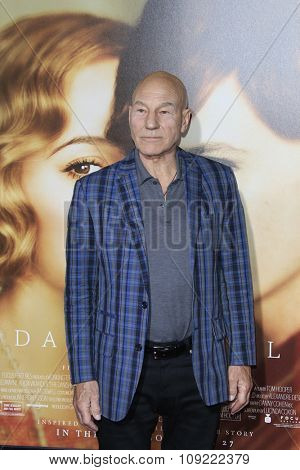 LOS ANGELES - NOV 21:  Patrick Stewart at the
