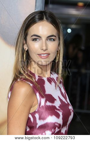 LOS ANGELES - NOV 21:  Camilla Belle at the