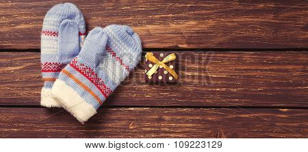 Christmas Gifts And Mittens