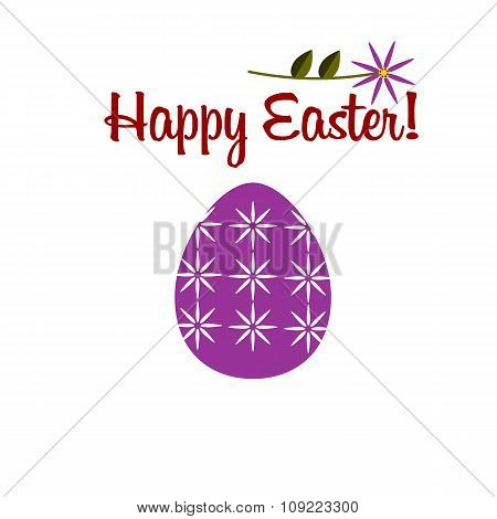 Happy Easter Color Flat Icon