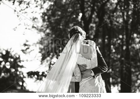 Wedding Photo,  Happy Bride And Groom Together
