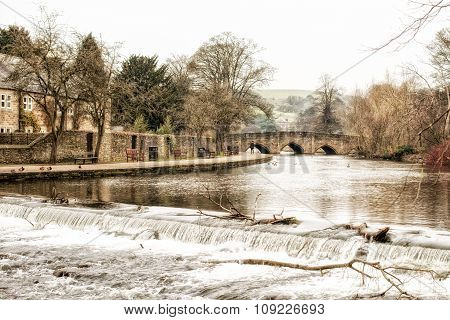 River Wye in Bakewell