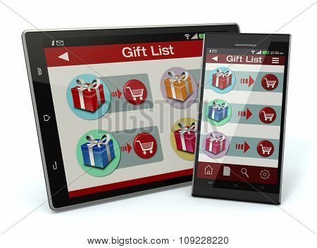 Online Shopping And Gifts