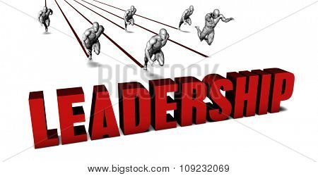 Better Leadership with a Business Team Racing Concept