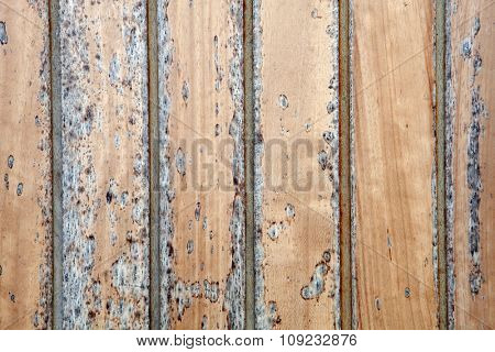 Wallpaper weathered wood with black paint