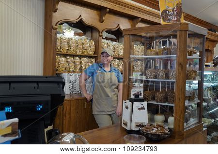 Inside Kilwin's Candy Store