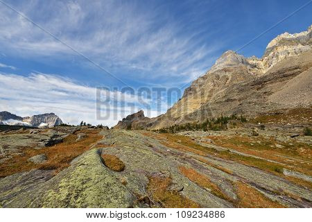Lake Oesa Trail In Yoho National Park