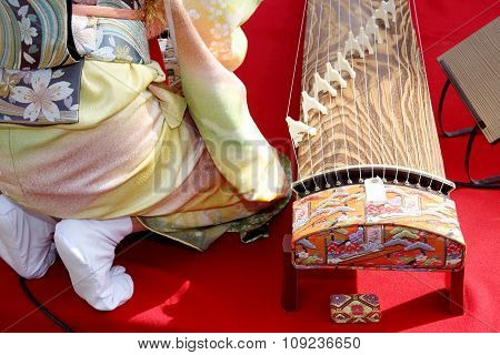 Traditional Japanese instrument
