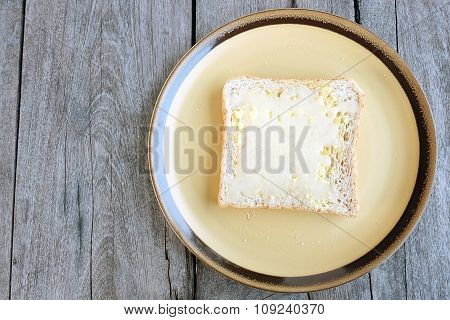 Bread with  Condensed milk