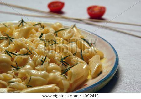 Plate  Of Macaroni