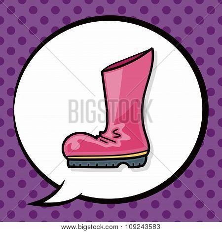 Rain Boots Doodle