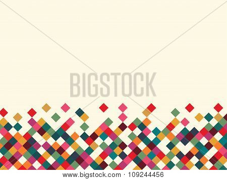 vector illustration of a color on white background
