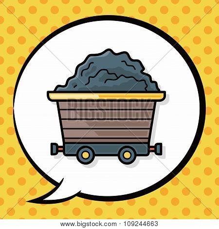 Gravel Trucks Doodle