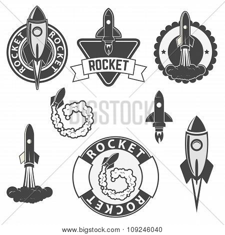 Rocket Labels Set.