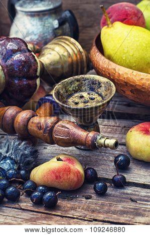 Eastern Hookah With Fruit