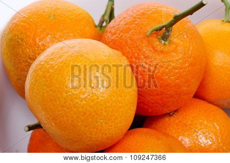 Assortments Of Tangerines
