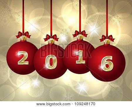 Glass Christmas Balls 2016